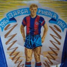 Coleccionismo deportivo: (F-0667)BANDERIN DEL HOMENAJE A LADISLAO KUBALA,C.F.BARCELONA,1950-1961. Lote 49825555