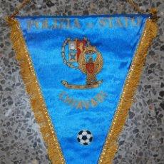 Coleccionismo deportivo: BANDERIN POLIZIA DI STATO CHIAVARI. Lote 49850664