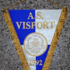 Coleccionismo deportivo: BANDERIN A.S. VISPORT. Lote 49850917