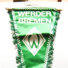 Coleccionismo deportivo: BANDERIN PENNANT WERDER BREMEN ALEMANIA GERMANY ORIGINAL 54 X 22 CM BUEN ESTADO . Lote 49878948