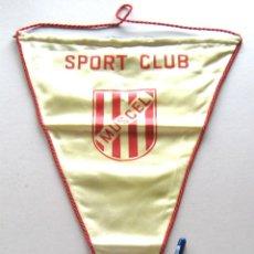 Coleccionismo deportivo: BANDERIN FUTBOL PENNANT SPORT CLUB MUSCEL RUMANIA ROMANIA 39 X 29 CM BUEN ESTADO . Lote 49902417