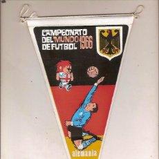 Coleccionismo deportivo: ANTIGUO BANDERIN CAMPEONATO DEL MUNDO DE FUTBOL ALEMANIA 1966. Lote 50218241