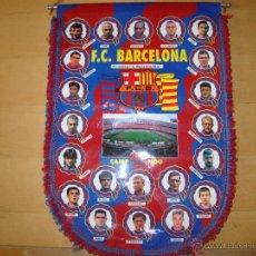 Coleccionismo deportivo: ANTIGUO BANDERIN FC BARCELONA - TEMPORADA 96-97. Lote 50797854