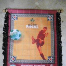 Coleccionismo deportivo: BANDERIN FINAL UEFA FC.OPORTO-CELTIC DE GLASGOW.21/05/2003.. Lote 51576994