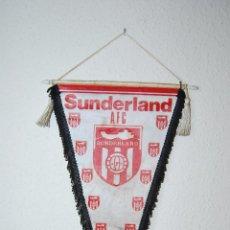 Coleccionismo deportivo: BANDERÍN SUNDERLAND AFC - FÚTBOL - INGLATERRA - AÑOS 70-80. Lote 51725775