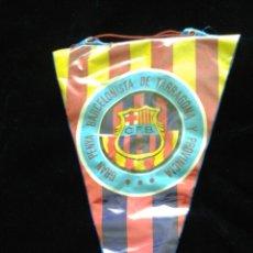Coleccionismo deportivo: BANDERÍN PLASTIFICADO GRAN PENYA BARCELONISTA DE TARRAGONA Y PROVINCIA. Lote 51806057