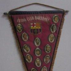 Coleccionismo deportivo: BANDERIN OFICIAL F.C. BARCELONA - CAMPEONATO DE LIGA 73/74 - LA LIGA DE JOHAN CRUYFF. Lote 51919327