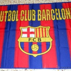 Coleccionismo deportivo: BANDERA FLAG BANDIERA FUTBOL FC BARCELONA. SPANISH FOOTBALL.. Lote 52142409