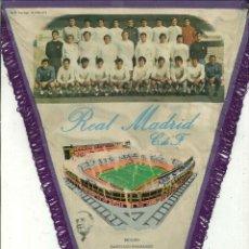 Coleccionismo deportivo: BANDERÍN REAL MADRID AÑO 1972. Lote 52286618