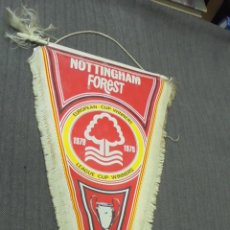 Coleccionismo deportivo: ANTIGUO BANDERIN - NOTTINGHAM FOREST - EUROPEAN CUP WINNERS - 1979 - . Lote 52675059