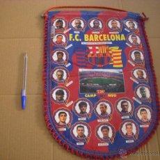 Coleccionismo deportivo: BANDERÍN F.C BARCELONA 96-97, LICENCIA F.C BARCELONA. Lote 52770630