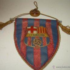 Coleccionismo deportivo: ANTIGUO Y RARO BANDERIN DE COCHE.......C.F. BARCELONA.. Lote 53109297