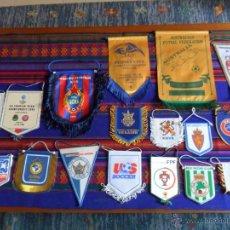 Coleccionismo deportivo: LOTE 28 BANDERÍN REAL MADRID BOCA JUNIORS ATHLETIC BILBAO CELTA VIGO LOTE AMPLIADO. MUY DIFÍCILES!!!. Lote 13544569