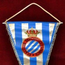 Coleccionismo deportivo: BANDERIN DEL REAL CLUB DEPORTIVO ESPAÑOL DE LOS AÑOS 70. Lote 53511931