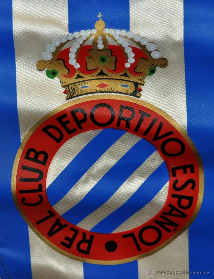 Coleccionismo deportivo: BANDERIN DEL REAL CLUB DEPORTIVO ESPAÑOL DE LOS AÑOS 70 - Foto 2 - 53511931