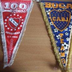 Coleccionismo deportivo: BANDERINES EQUIPOS FÚTBOL. Lote 53698330