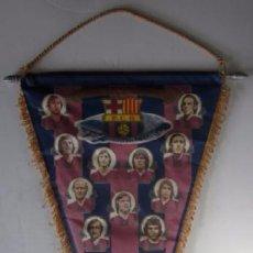Coleccionismo deportivo: BANDERIN F.C. BARCELONA - TEMPORADA 1975/76 . Lote 53866677