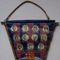 Coleccionismo deportivo: BANDERIN F.C. BARCELONA - TEMPORADA 1976/77. Lote 53866817