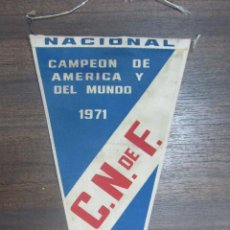 Coleccionismo deportivo: BANDERIN NACIONAL DE URUGUAY. 1971.. Lote 53972089