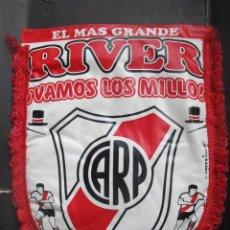 Coleccionismo deportivo: BANDERIN ANTIGUO RIVER PLATE AÑOS 90 FÚTBOL ARGENTINA. Lote 54074057