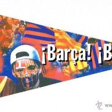 Coleccionismo deportivo: BANDERIN ADHESIVO FC BARCELONA - BARÇA BARÇA SPORT. Lote 54179206