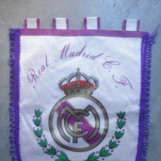 Coleccionismo deportivo: BANDERIN FUTBOL CLUB REAL MADRID 1990. Lote 54573609