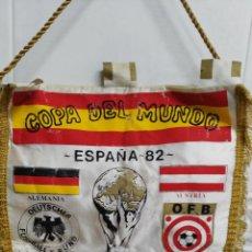 Coleccionismo deportivo: COPA DEL MUNDO ESPAÑA 82 ANTIGUO BANDERIN. Lote 54894083