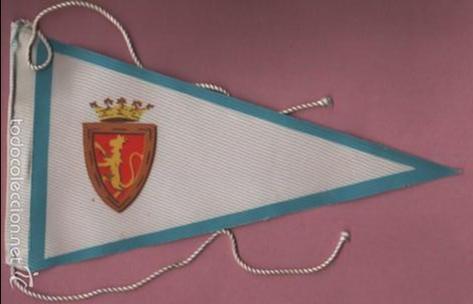 BANDERIN DE FUTBOL .REAL ZARAGOZA (Coleccionismo Deportivo - Banderas y Banderines de Fútbol)