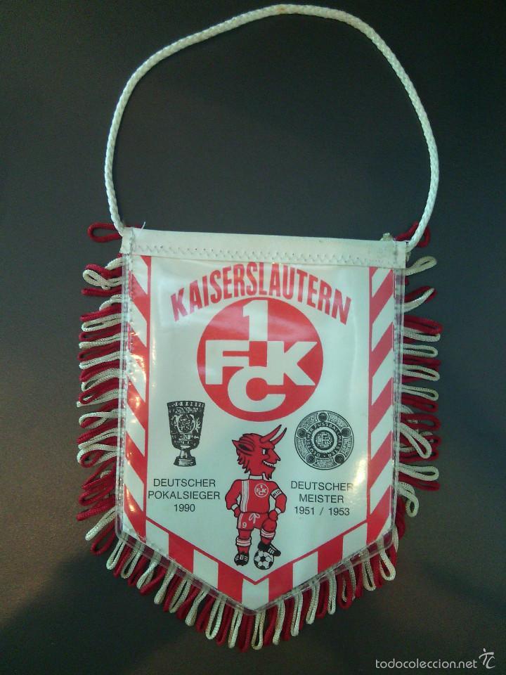 BANDERÍN KAISERSLAUTERN 1 FCK. (Coleccionismo Deportivo - Banderas y Banderines de Fútbol)