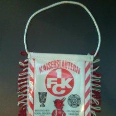 Coleccionismo deportivo: BANDERÍN KAISERSLAUTERN 1 FCK.. Lote 66348186
