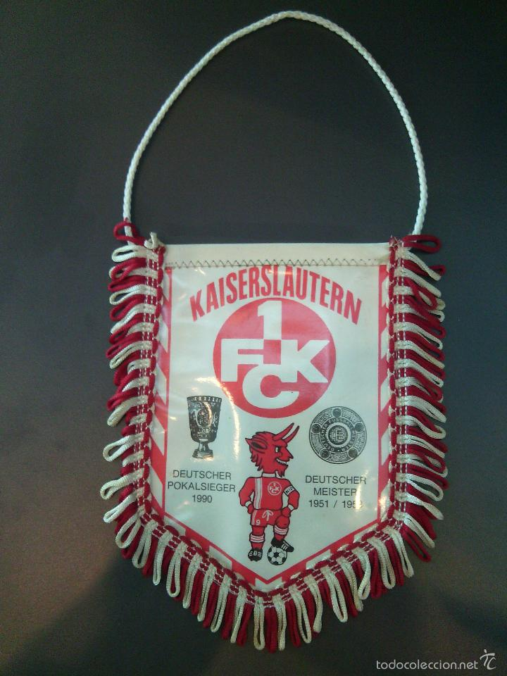 Coleccionismo deportivo: Banderín Kaiserslautern 1 FCK. - Foto 2 - 66348186