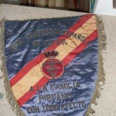 Coleccionismo deportivo: BANDERIN REAL FEDERACION ESPAÑOLA FUTBOL AÑO 1974. Lote 56714316