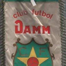 Coleccionismo deportivo: INTERESANTE BANDERIN DEL CLUB DE FUTBOL DAMM - FUTBOL BASE - JUVENIL. Lote 57180408