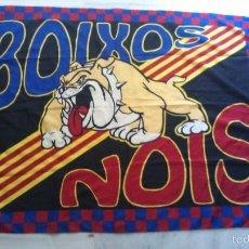 Colecionismo desportivo: BANDERA BOIXOS NOIS MEDIDAS 1,30 X 95. Lote 57407724