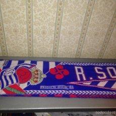 Coleccionismo deportivo: BUFANDA REAL SOCIEDAD AÑOS 90. Lote 57672134