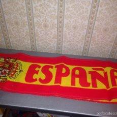 Coleccionismo deportivo: BUFANDA DE ESPAÑA AÑOS 90. Lote 57672258