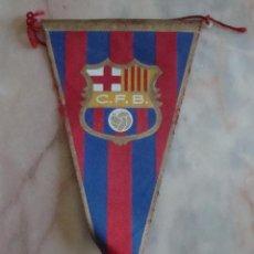 Coleccionismo deportivo: (TC-3) BANDERIN CLUB FUTBOL BARCELONA. Lote 57677517