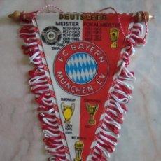 Coleccionismo deportivo: (TC-3) BANDERIN F. C. BAYER MUNCHEN. Lote 57677570