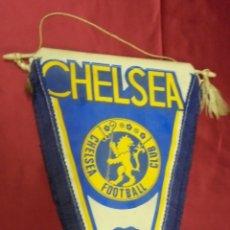 Coleccionismo deportivo: BANDERIN. CHELSEA FOOTBALL CLUB. 36 X 19 CMS. SUPER BLUES.. Lote 57980950