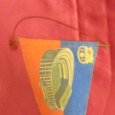 Coleccionismo deportivo: BANDERIN. INAGURACION ESTADIO C.F.BARCELONA. 24-IX-1957. . Lote 58119883