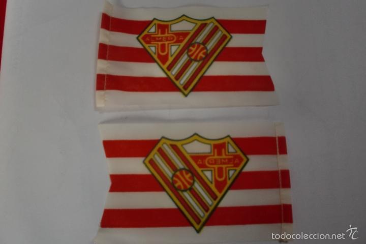 U D ALMERIA BANDERIN AÑOS 50 LOTE DE DOS (Coleccionismo Deportivo - Banderas y Banderines de Fútbol)