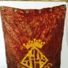 Coleccionismo deportivo: ESTANDARTE DE BARCELONA 1920'S.. Lote 141274628