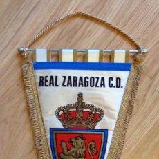 Coleccionismo deportivo: BANDERIN FUTBOL PENNANT FOOTBALL REAL ZARAGOZA AÑOS 80. Lote 61030687