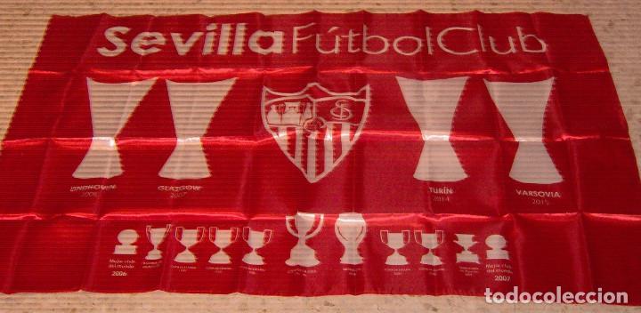 BANDERA DEL SEVILLA (Coleccionismo Deportivo - Banderas y Banderines de Fútbol)