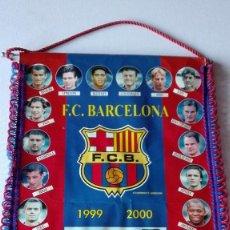 Coleccionismo deportivo: BANDERIN F.C. BARCELONA 1999-2000. Lote 64362103