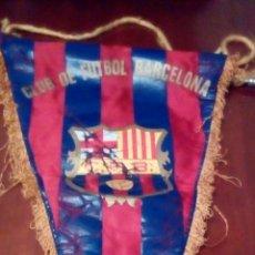 Coleccionismo deportivo: BANDERÍN DEL F BARCELONA PRINCIPIO AÑOS 70 ORIGINAL.. Lote 65700767
