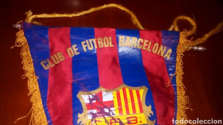 Coleccionismo deportivo: Banderín del F Barcelona principio años 70 original. - Foto 3 - 65700767