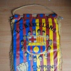 Coleccionismo deportivo: BANDERIN FC BARCELONA CAMPIONS DE LLIGA 1984 1985 CAMPEON LIGA 84 85. Lote 67104193