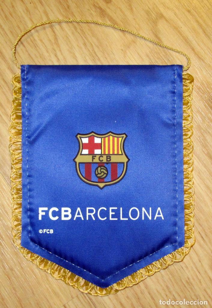 BANDERIN FUTBOL PENNANT FOOTBALL F.C. BARCELONA (Coleccionismo Deportivo - Banderas y Banderines de Fútbol)