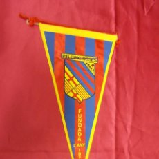 Coleccionismo deportivo: BANDERIN P.B. CINC ROSES. FUNDADA L'ANY 1971. 27 X 14 CMS. APROX.. Lote 69965085
